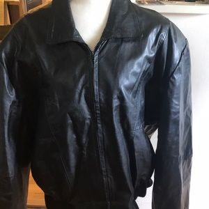 Vintage 80s Leather Carl Amboldi Jacket